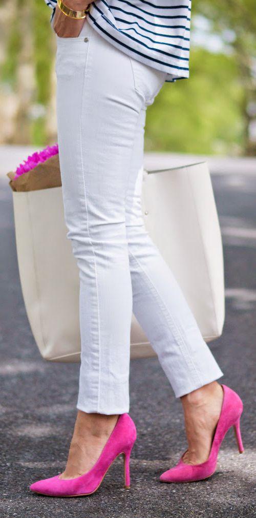 Ideas para combinar zapatos rosas 16  Como Organizar la