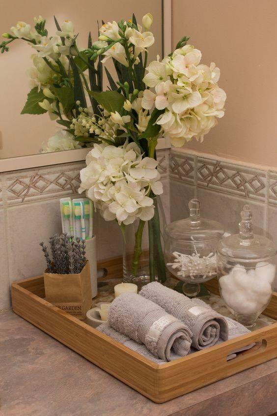 Ideas para decorar tu bao de visitas 20