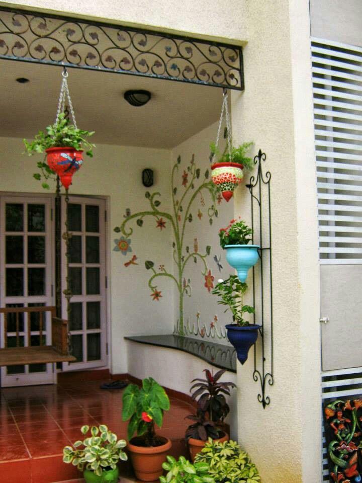 Decoracin de jardines y patios 35  Como Organizar la