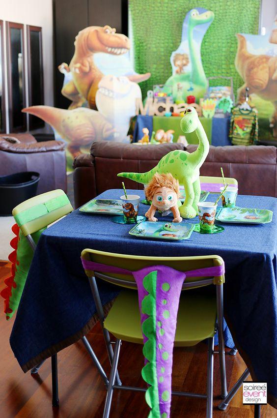 Ideas para fiestas con tema de gran dinosaurio 9  Como