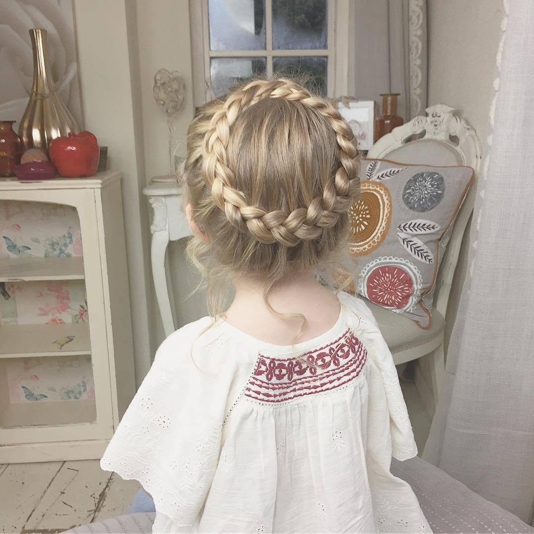 Peinados Con Trenza Para Nias 39 Como Organizar La