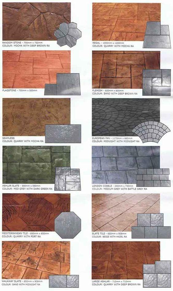 Pisos de cemento para exterior 18  Como Organizar la
