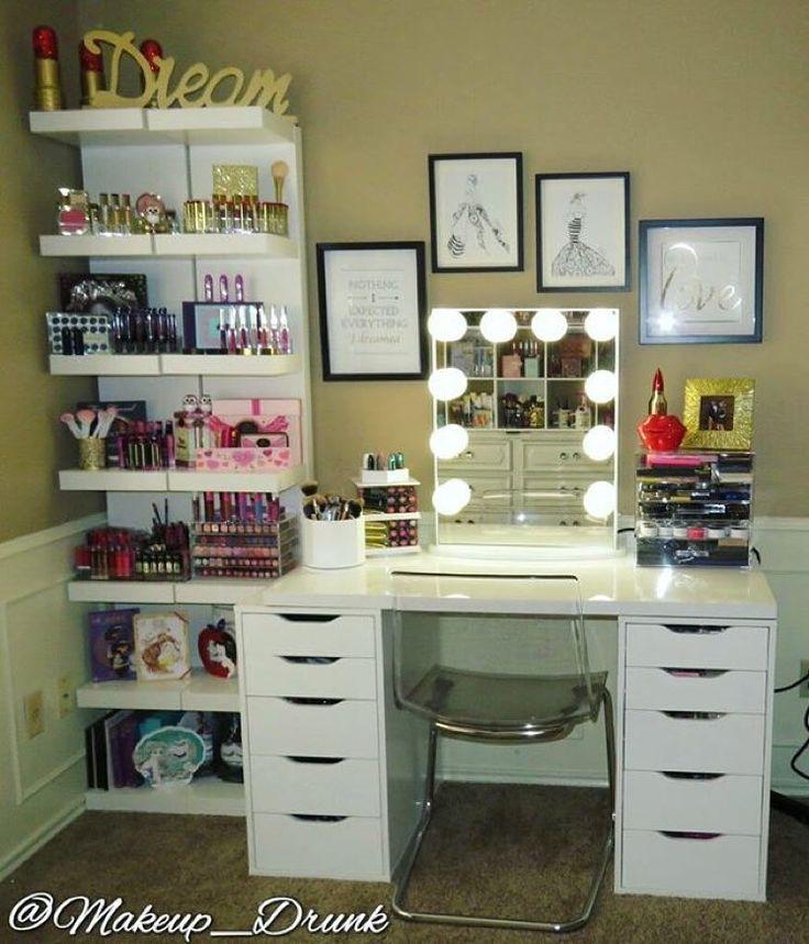 Muebles organizadores de maquillaje 5