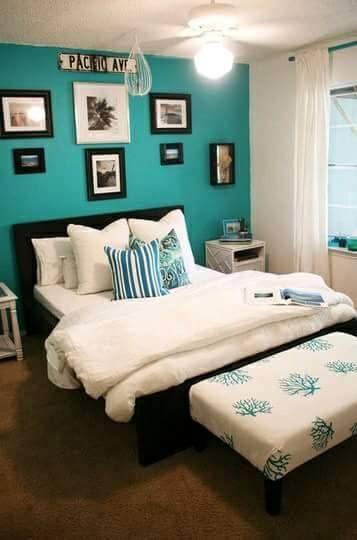 36 Ideas Decoracion Interiores Color Azul Turquesa 24