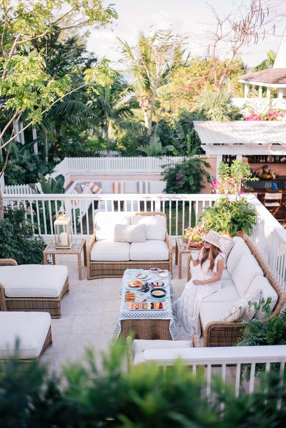 Ideas de diseo para terrazas modernas  Como Organizar la Casa  Fachadas  Decoracion de interiores  Ideas para Fiestas  Moda Mujeres de 40