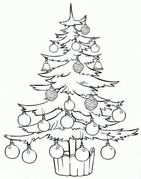 Regalos Para Pintar Elegant Dibujo Del Arbol De Navidad