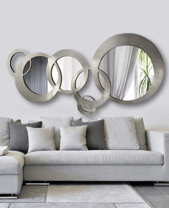 Espejos Decorativos para Sala y Comedor  Como Organizar