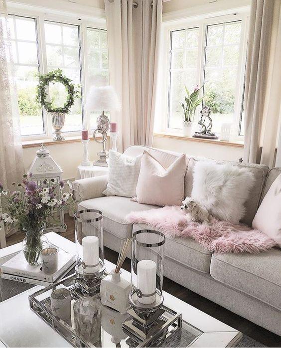 Como decorar la sala en navidad  Sencillas elegantes y