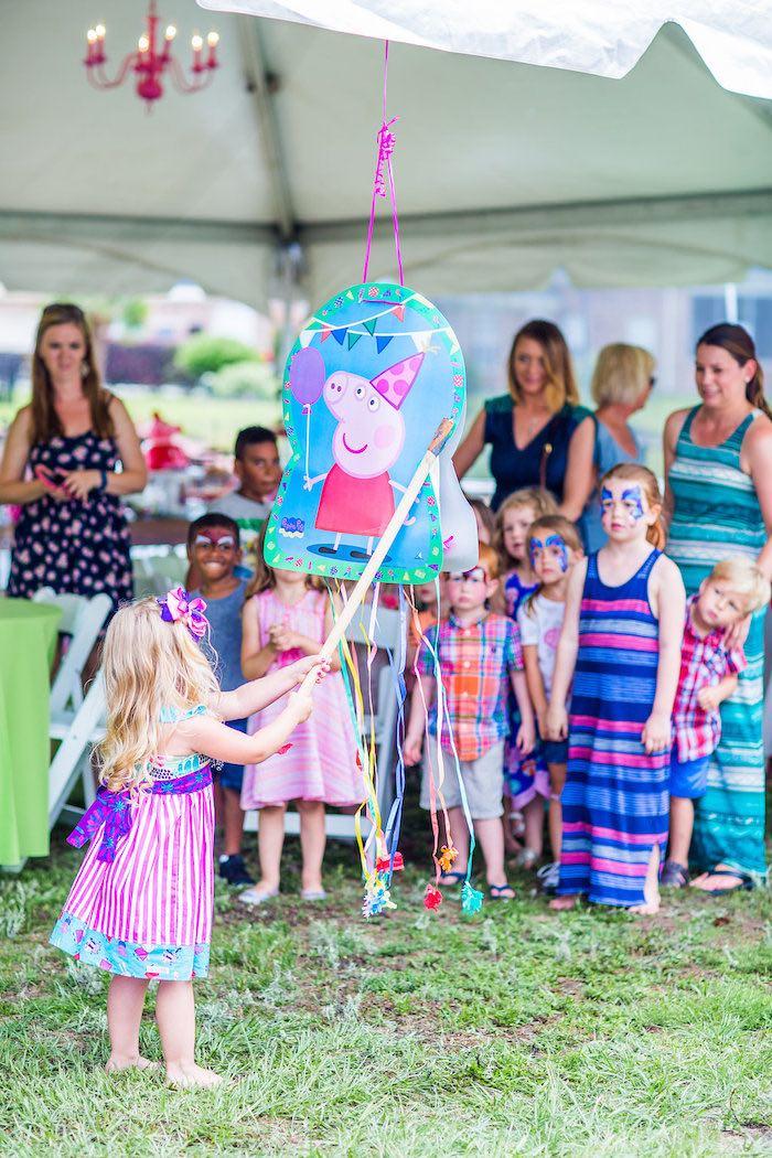 Ideas para Decorar una Fiesta de Peppa Pig  Como Organizar la Casa  Fachadas  Decoracion de