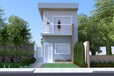 fachadas de casas simples 3 Como Organizar la Casa