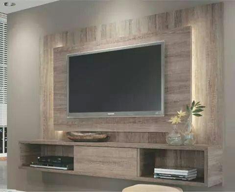 Muebles para televisin  Como Organizar la Casa  Fachadas  Decoracion de interiores  Ideas