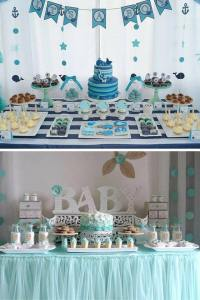 40 ideas que puedes intentar para decorar un baby shower ...