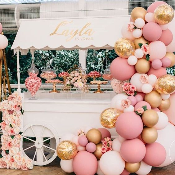 40 ideas que puedes intentar para decorar un baby shower