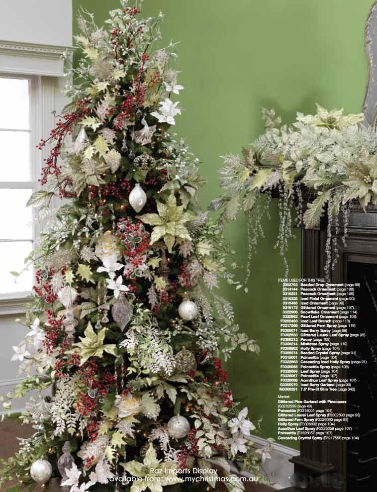 Mas de 200 fotos de arboles de navidad decorados