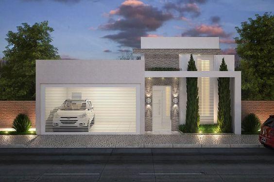 Pequenas de casas fachadas for Fachadas de casas pequenas