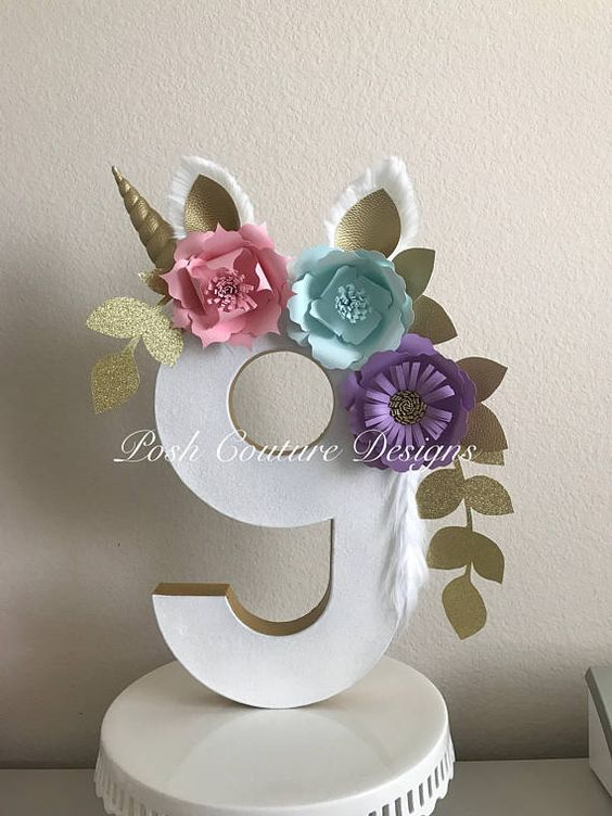 numero nueve de unicornio  Como Organizar la Casa