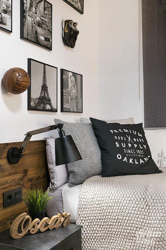 Dormitorios pequeos  Ideas en decoracin moderna y color