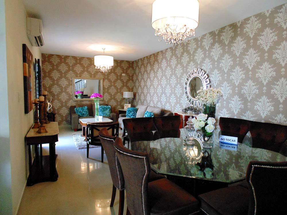 decoracion sala y comedor casa infonavit  Decoracion de