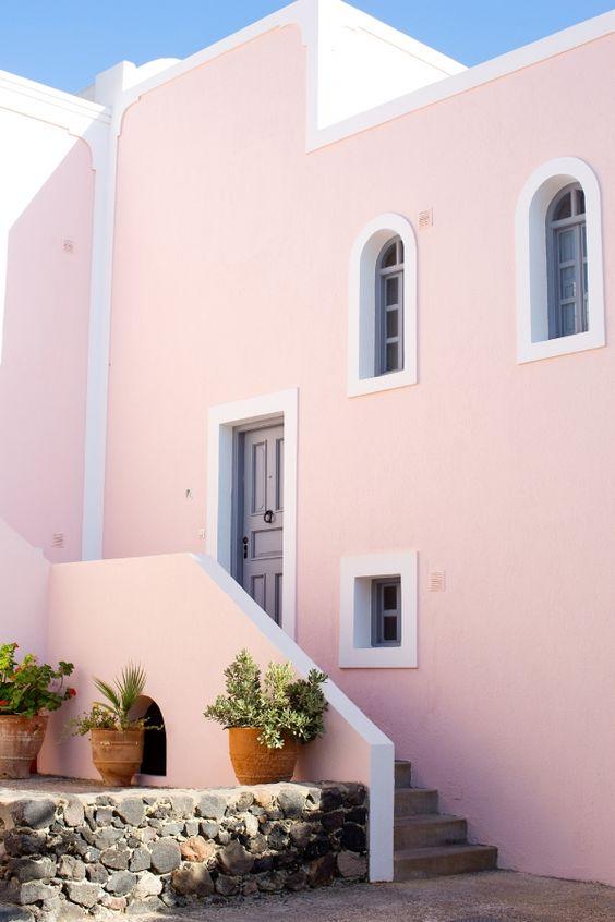 Colores para pintar fachadas de casas  Tendencias 2019