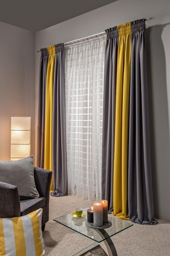 Cortinas modernas   Diseños de cortinas para la casa 2018