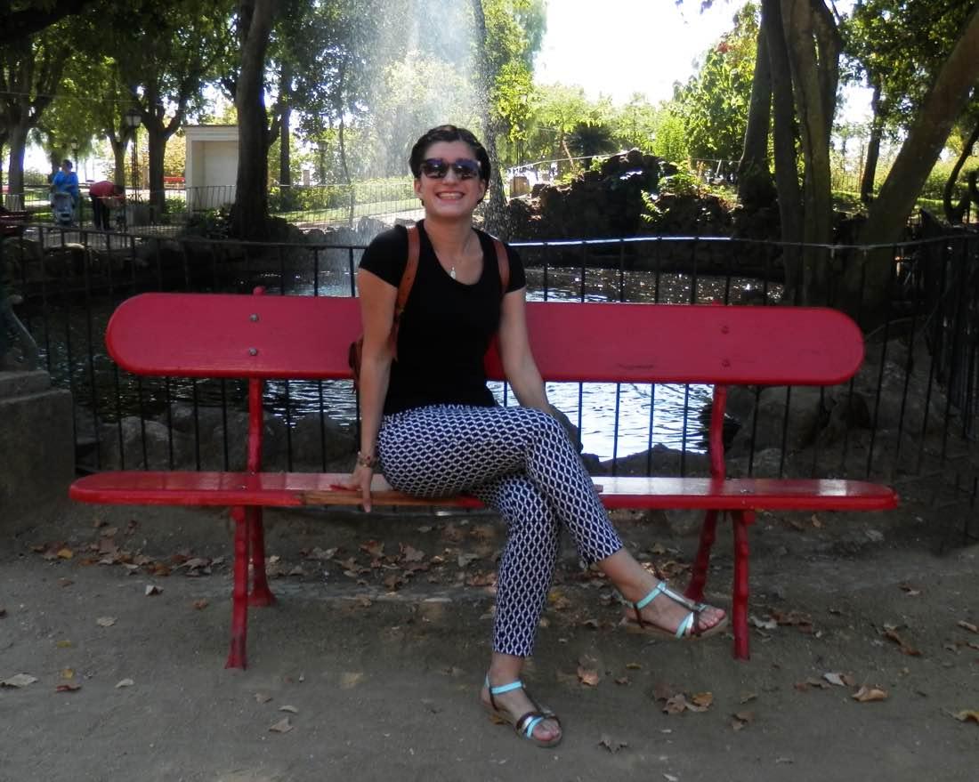 parque publico evora