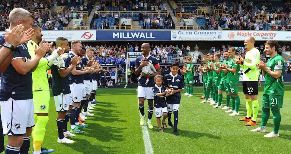 Abdou, The Den Remembers : Jimmy Abdou's testimonial – Millwall FC
