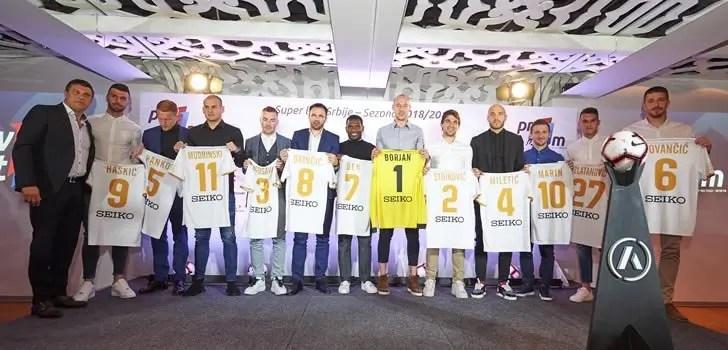 Ben Mohamed, Champion de Serbie, Ben Mohamed dans le Onze type de la saison