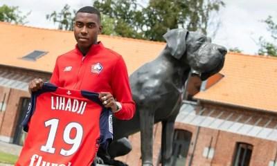 Isaac Lihadji, Isaac Lihadji signe son premier contrat professionnel à Lille