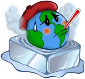 como se produce el calentamiento global
