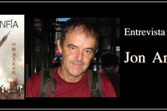 Jon Arretxe. Entrevista al autor de Desconfía, séptima entrega de Touré