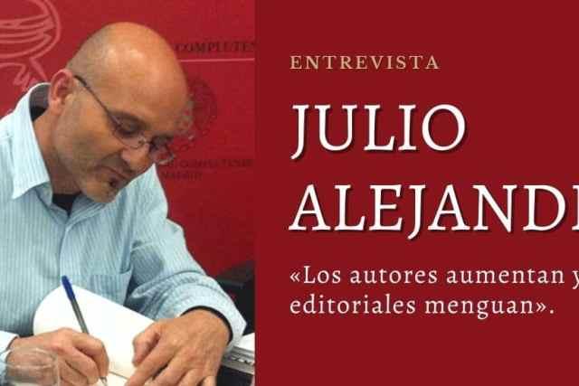 Julio Alejandre. Entrevista al autor de Las islas de Poniente