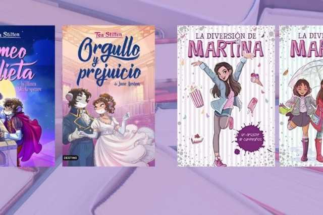 Libros infantiles: clásicos de Tea Stilton y serie de Martina