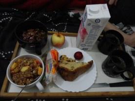 Café da manhã na cama, afinal o Bom Marido merece!