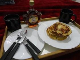 Panqueca Americana com Maple Syrup