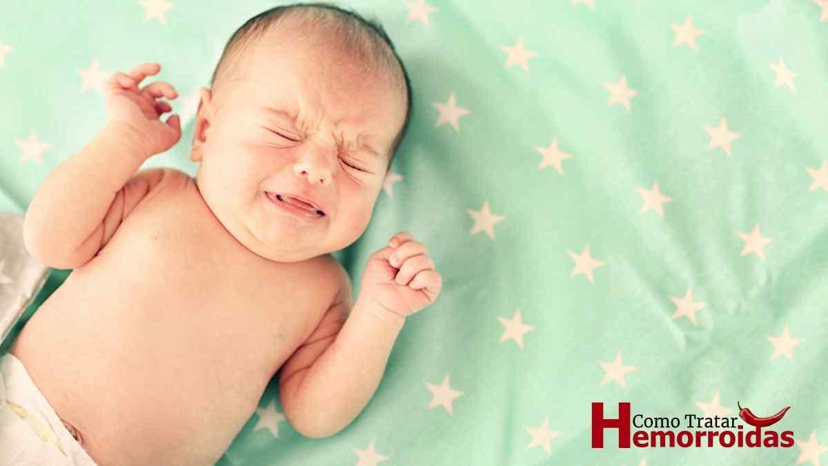 O que Causa Hemorroida em Bebê e O Que Fazer