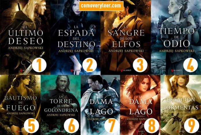Guía de lectura saga Geralt de Rivia