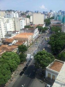Hotel no Rio, Windsor Florida, Rua do Catete Vista da Piscina - Nathalia Molina www.comoviaja.com.br
