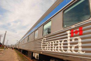 Trem Toronto-Vancouver, Canada