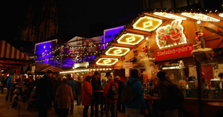 Mercado de Natal, Alemanha, Regensburg, Europa - Foto Nathalia Molina @ComoViaja