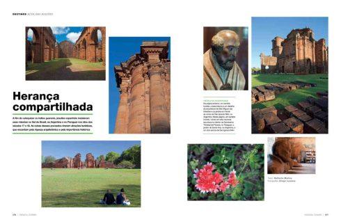 Missões Jesuíticas, Revista da Azul - Texto Nathalia Molina 01-2