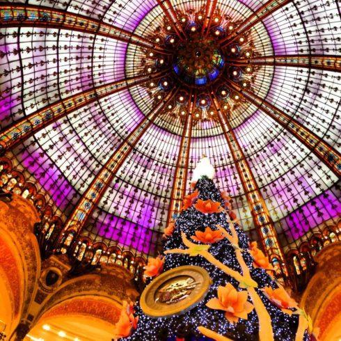 Paris, França, Galeries Lafayette, Natal, Árvore e Cúpula, Lojas no Boulevard Haussmann - Foto Nathalia Molina @ComoViaja (3)