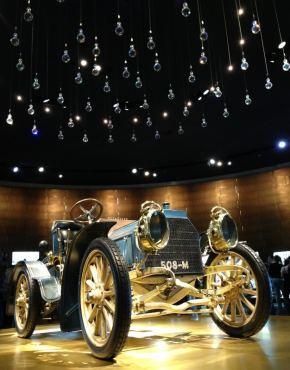 Museu Mercedes, Alemanha, Primeiros Carros - Foto Nathalia Molina @ComoViaja (10) (626x800)