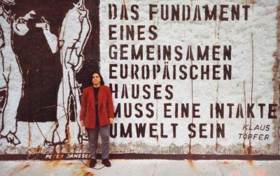 MURO DE BERLIM EM 1992