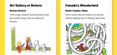 Canada Toronto Viagem com Crianca Atividades - Site