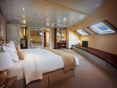 Silversea Navio Silver Whisper Viagem de Volta ao Mundo Grand Suite - Foto Divulgacao