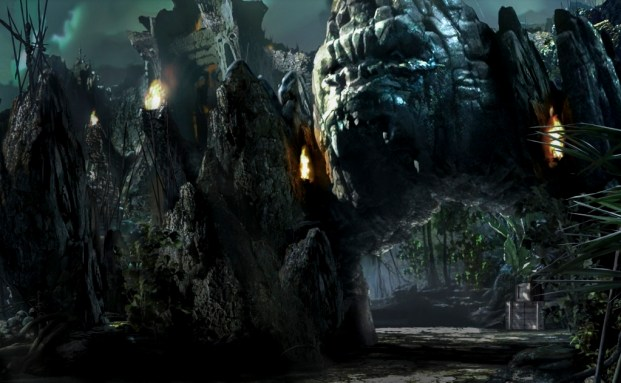 Universal, King Kong, Islands of Adventure Atracao Skull Island Reign of Kong - Divulgacao