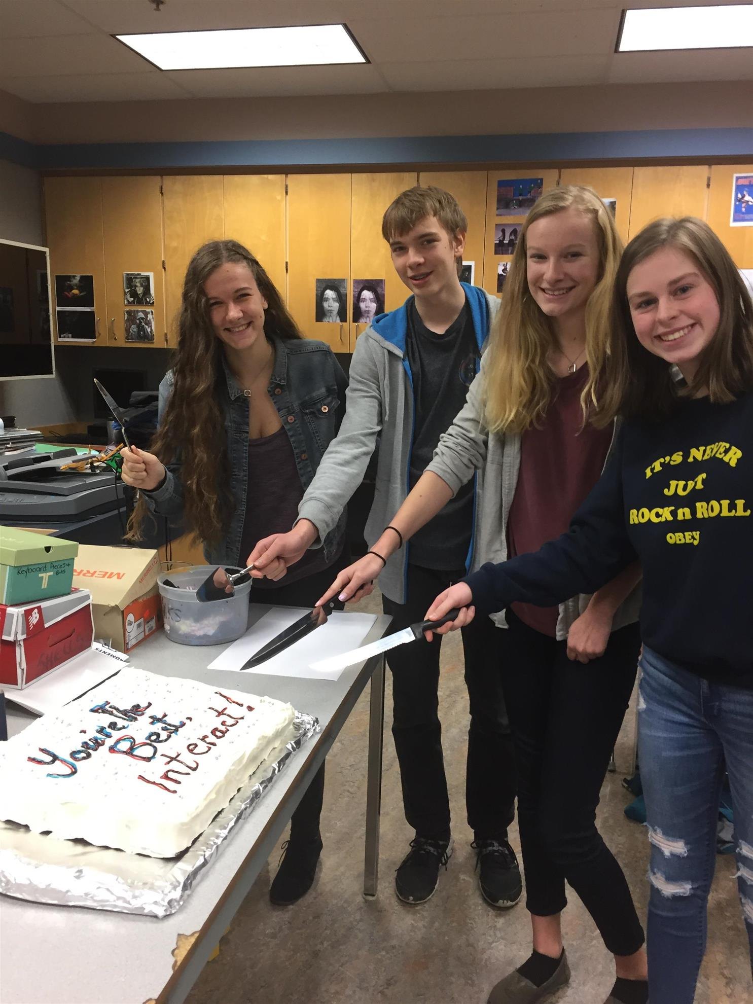 Mark R. Isfeld's Interact Wins Video Competition