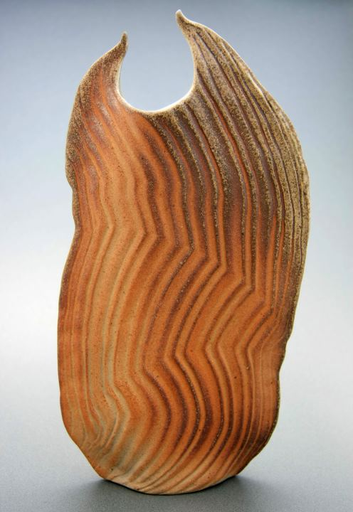 Vase pottery by Shirley Phillips