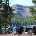 Jeep Style Trailer Dinoot DIY Trailer by Compact Camping Trailers
