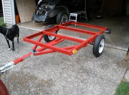 Harbor Freight Trailer Frame Compact Camping Trailers